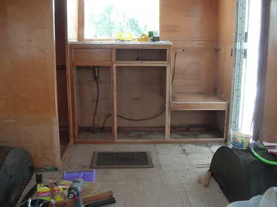 Shasta Compact Rebuild Vintage TrailersVintage CampersCamper RemodelingShasta