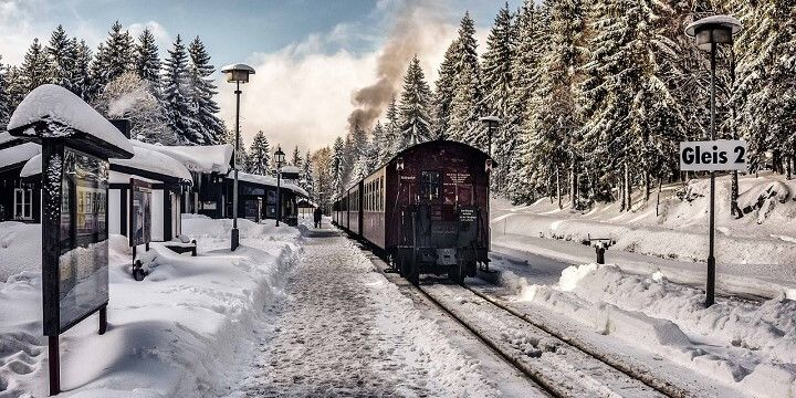 Harz Mountains, central Germany