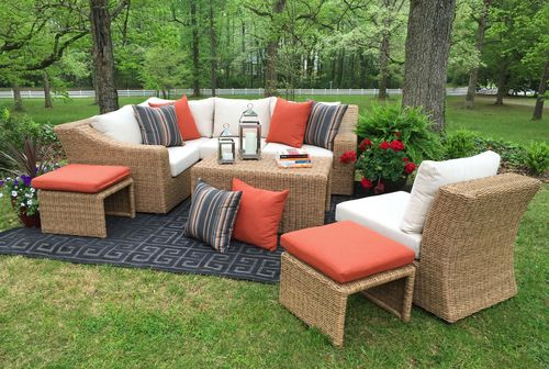 Arizona Sectional | AE Outdoor | Not Your Grandmau0027s Patio Furniture |  Sunbrella Fabric | All