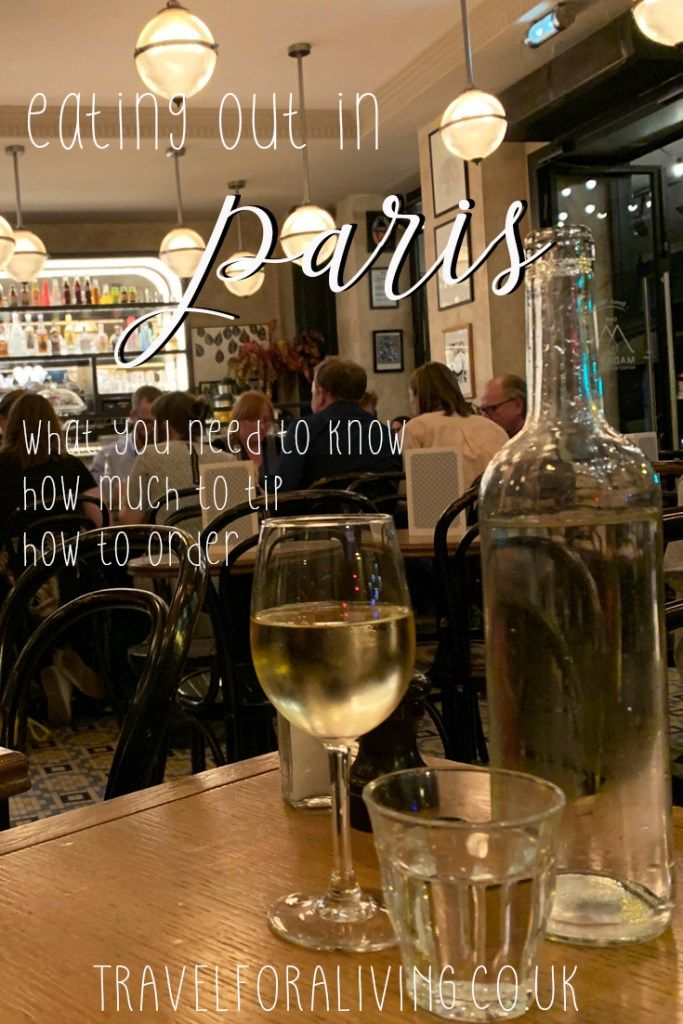 Photo of Things to know when eating out in Paris – Travel for a Living