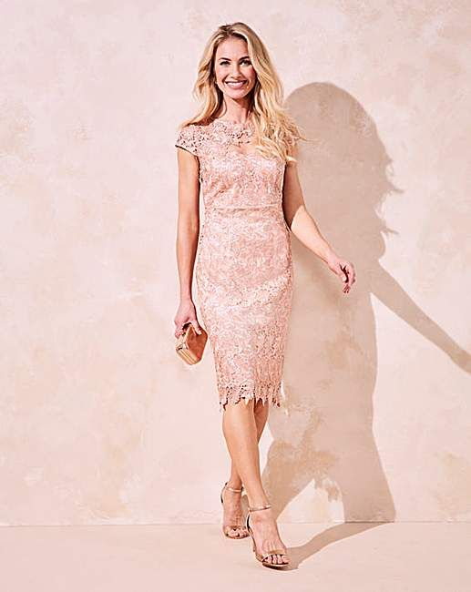 novel style wide selection of designs complete range of articles JOANNA HOPE Short Sleeved Lace Dress   Marisota   Outfits ...