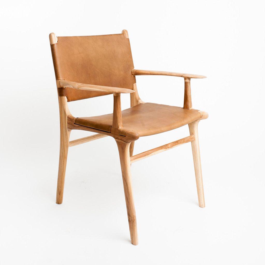 Fenwick Dining Chair Oak Tan Oak Dining Chairs Dining Chairs Leather Dining Chairs