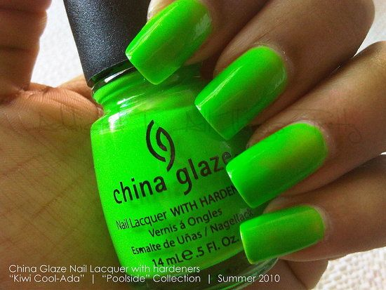Rachel S Ramblings Nail Polish Colors Continued Neon Green Nails Nail Designs Summer Neon Green Nail Polish