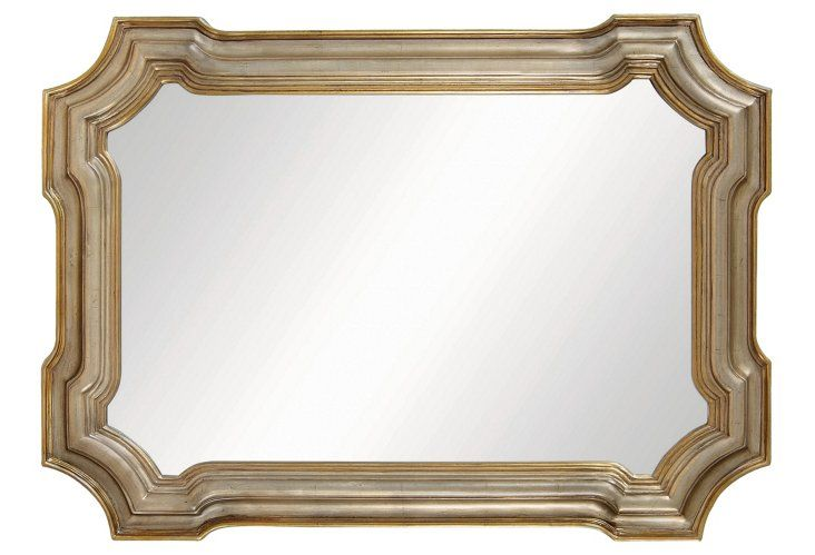 Old World Mirror Silver Ornate Mirror Traditional Wall Mirrors Silver Wall Mirror