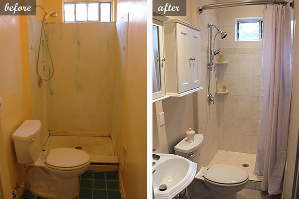 Photo From  Homeaccentideas  Home Remodeling Companies Adorable Before And After Small Bathrooms Design Decoration