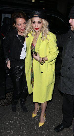 Rita Ora in London.