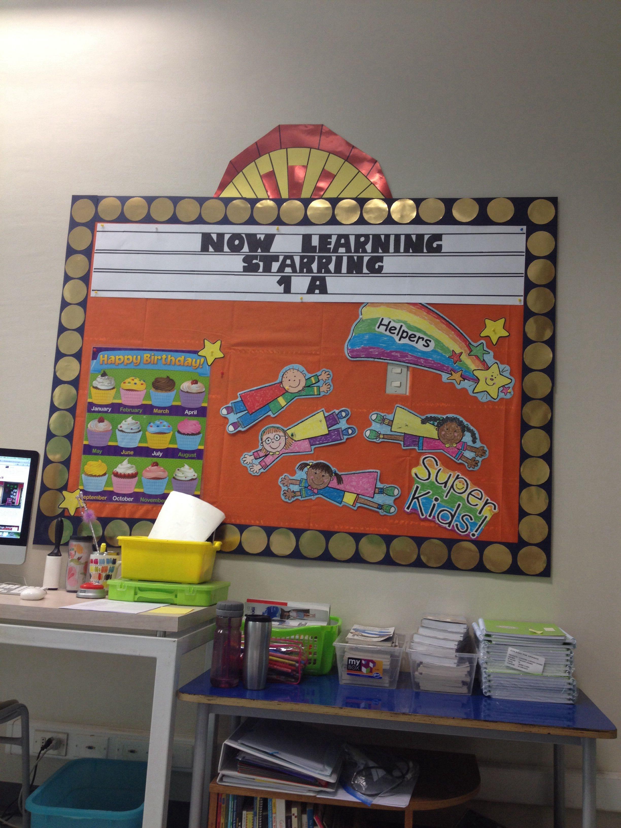 Movies classroom theme! Classroom themes, Classroom