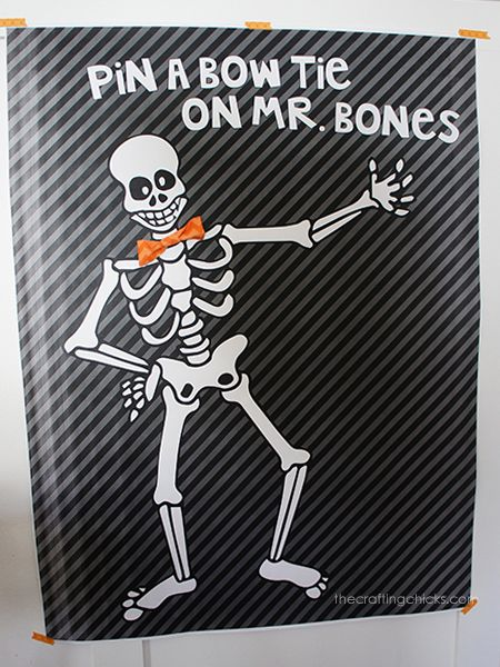 Pin the Bow Tie on Mr. Bones and 11 more Halloween ...