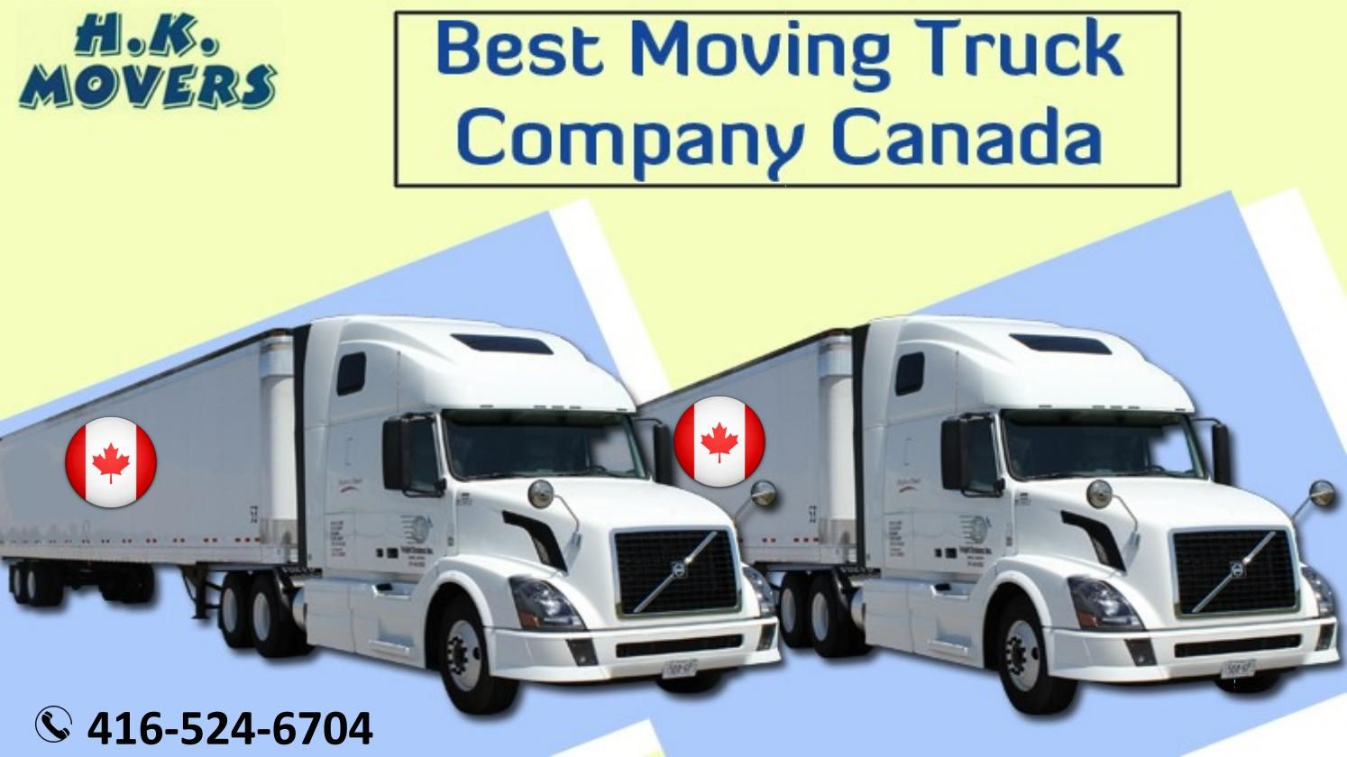 Best Moving Truck Company In Canada With Images Moving Truck