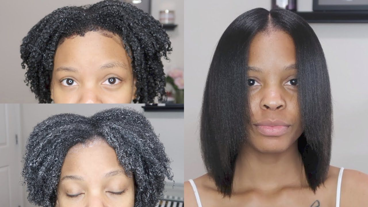 Pin By Calhoun Does It On Haircut In 2020 Natural Hair Silk Silk Press Natural Hair Natural Hair Styles