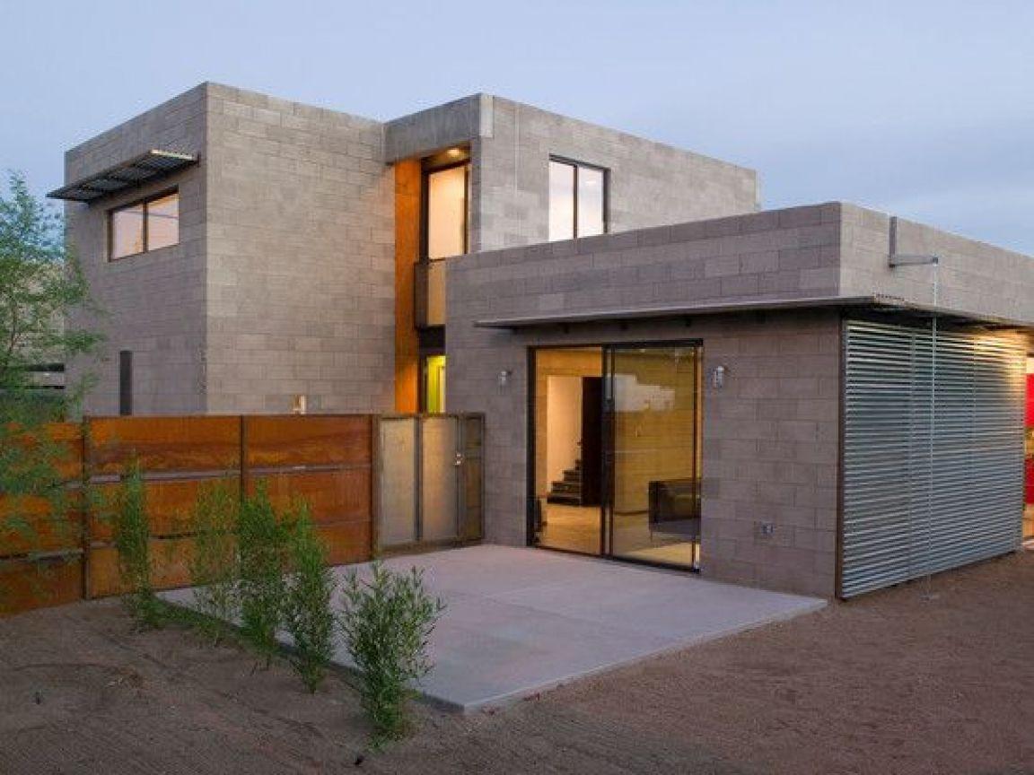 Modern Concrete Block Exterior Concrete Block Types