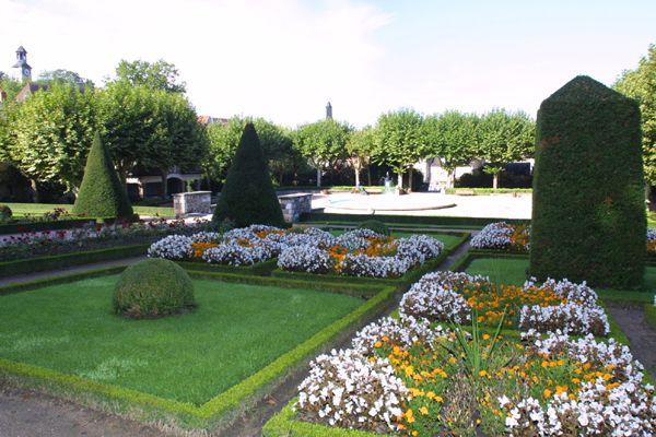 Jardin Du President Wilson Montlucon Allier France Jardins
