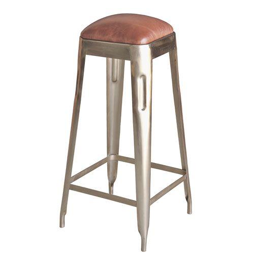 Surprising Nickel Bar Stool Sarreid Bar Height 28 To 36 Inch Bar Inzonedesignstudio Interior Chair Design Inzonedesignstudiocom
