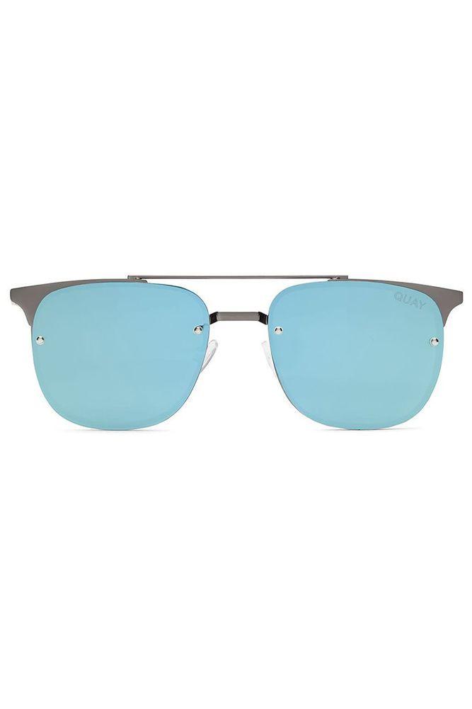 3798020cd17 QUAY Private Eyes Sunglasses Gunmetal