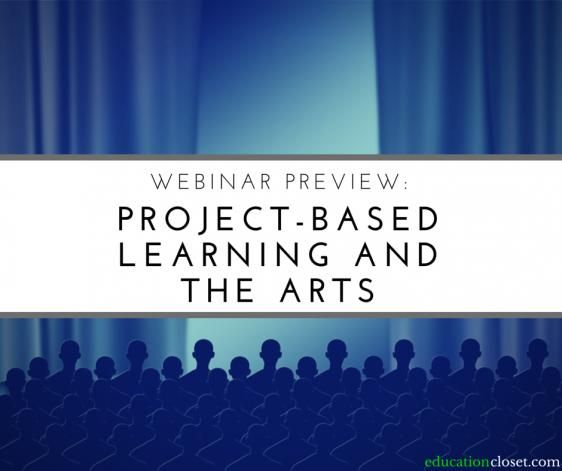 Free webinar in April connecting arts education arts integration and project-based learning. Register to save your spot (replay will be available to registrants)! #arteducation #art #education #advocacy