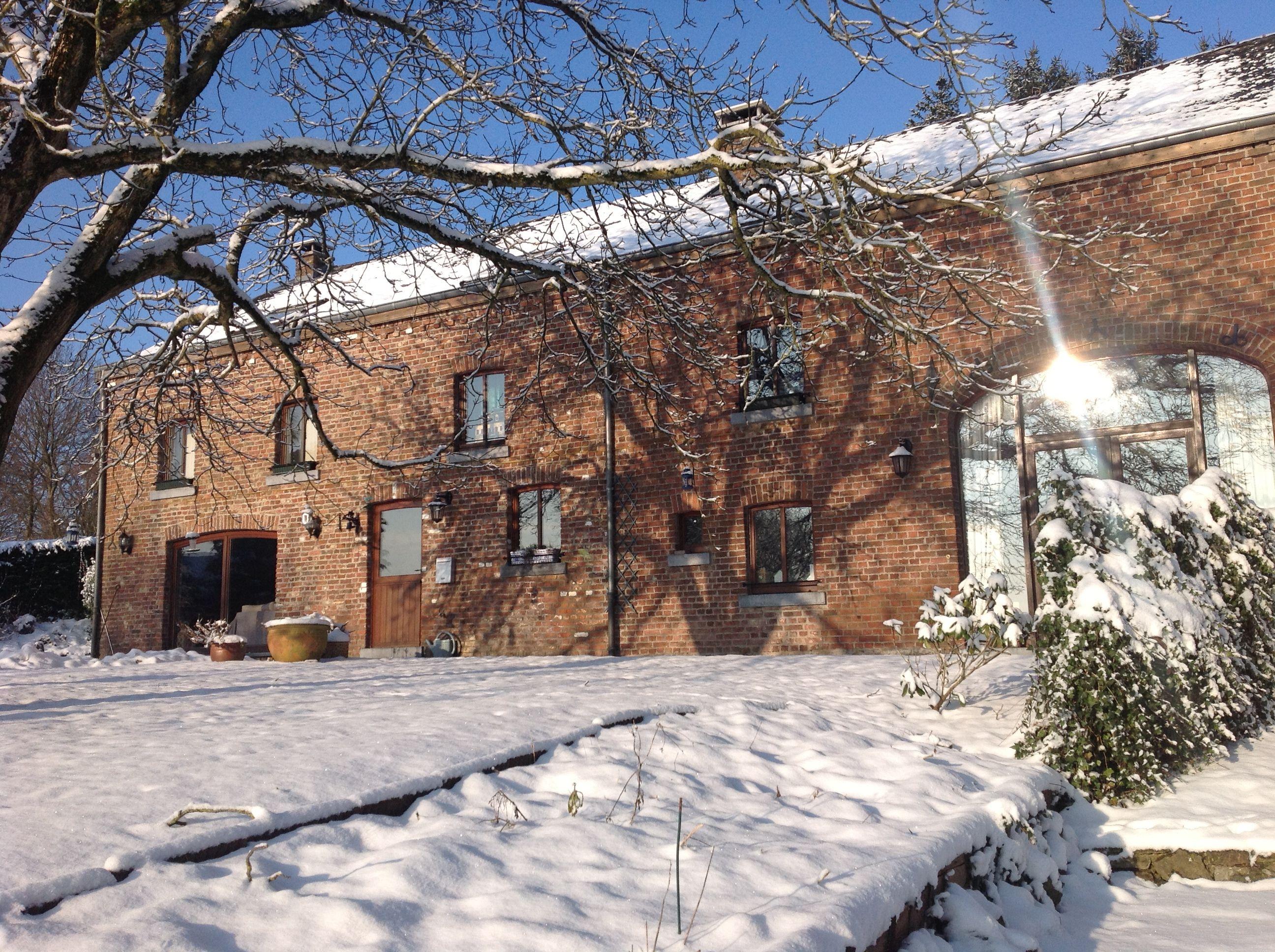 La Grange d Ychippe en hiver g te et chambre d h´tes  proximité