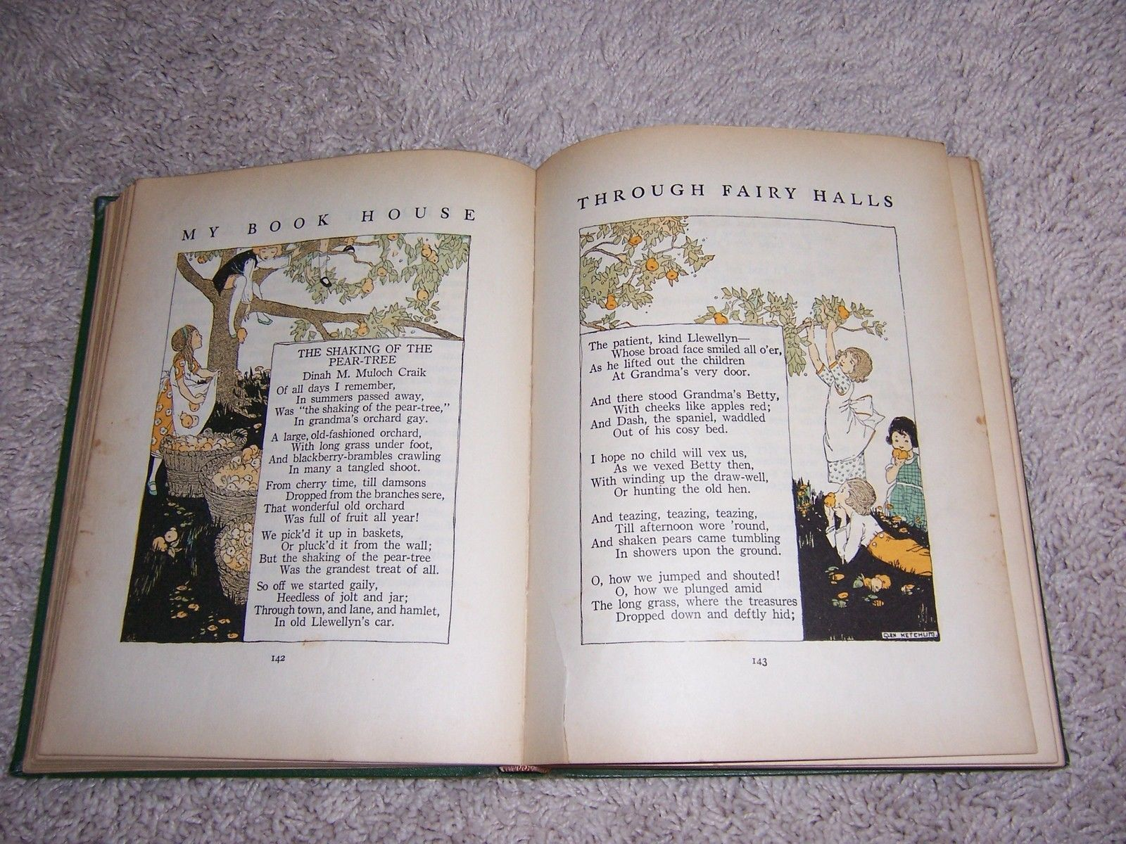 1920 Volume 3 MY BOOK HOUSE THROUGH FAIRY HALLS//1st Ed