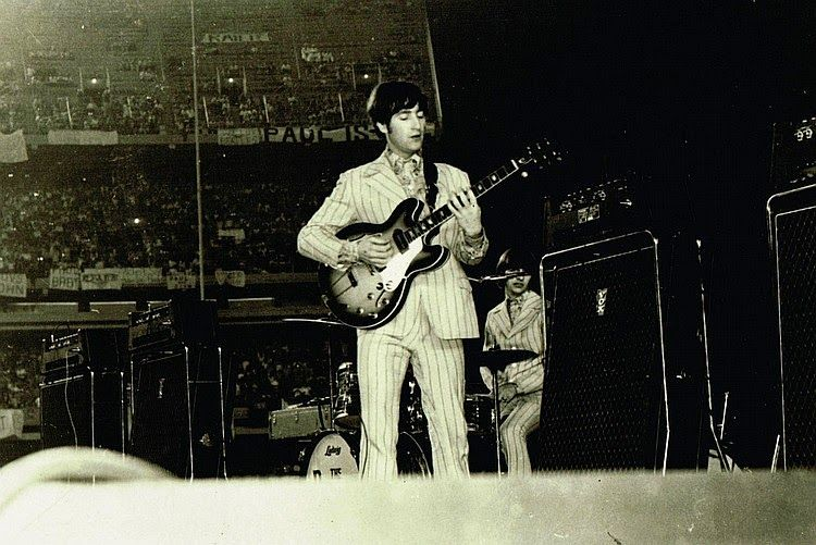 the beatles at shea stadium 23rd august 1966 the