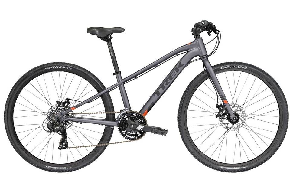 Trek Dual Sports 2017 Kids Bike Grey 26 Inch Kids Bike Trek Bicycle Bike