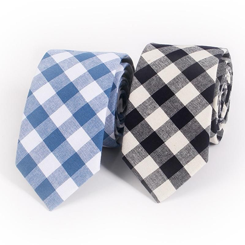 MenS Suit Tie Classic MenS Plaid Necktie formal Wear Business Ties Male Skinny Slim Ties Cravat