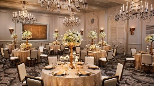 The St Anthony Hotel Banquet Chairs