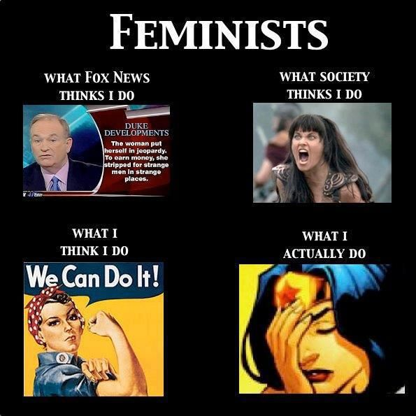 world domination, feminists