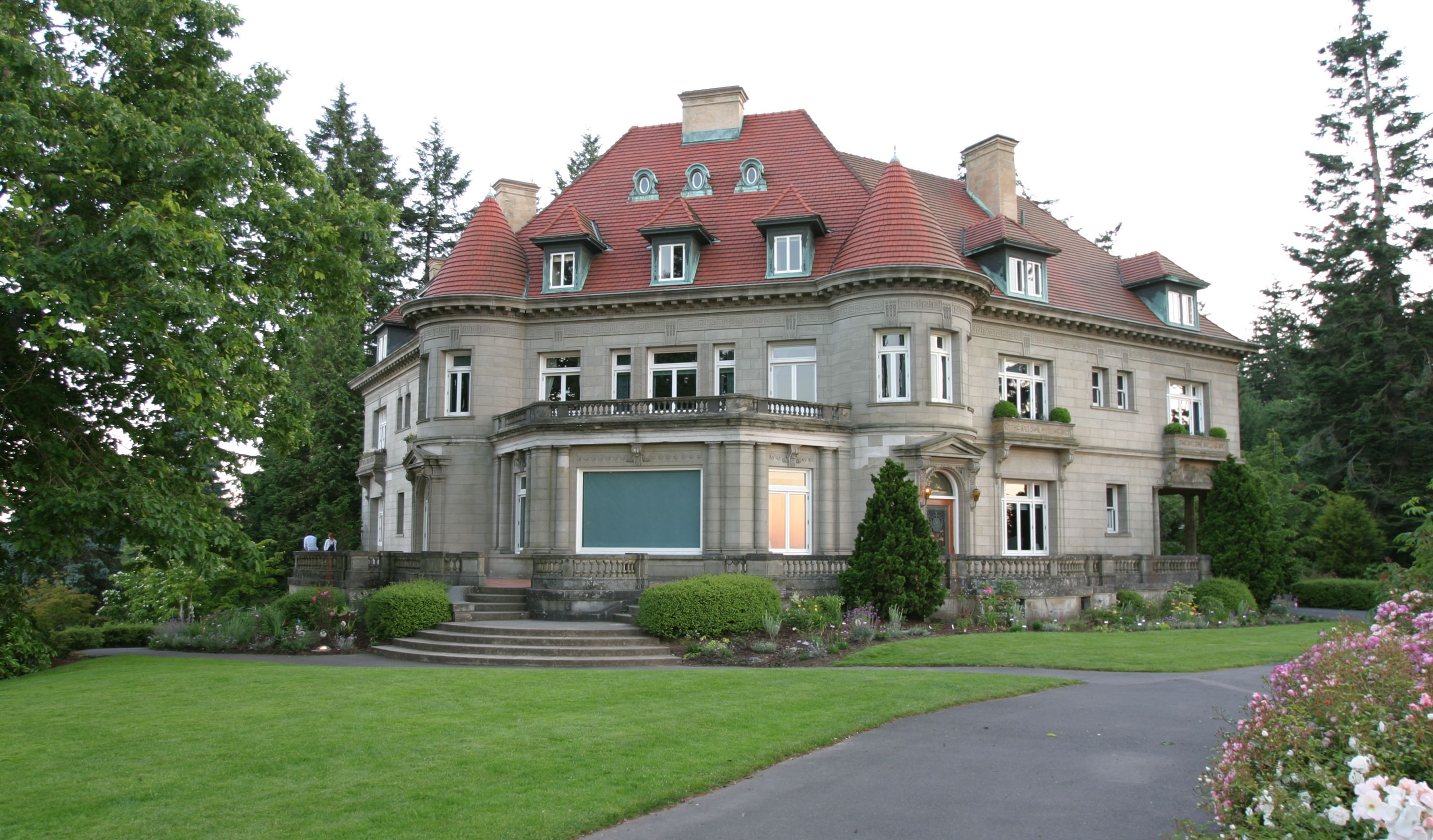 Admirable The French Renaissancestyle Pittock Mansion In Portland Home Interior And Landscaping Mentranervesignezvosmurscom