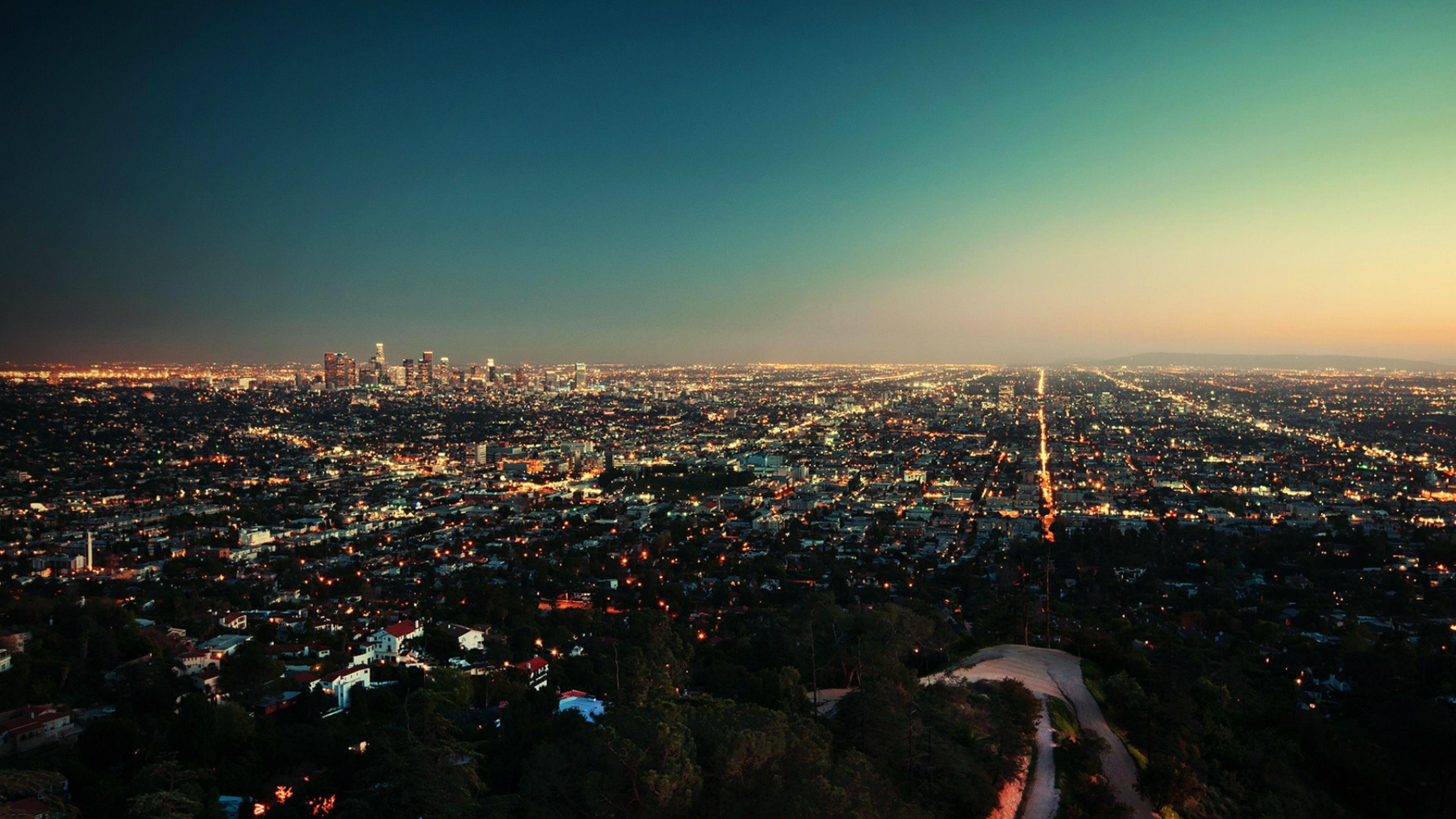 Los Angeles 4K Wallpaper WallpaperSafari