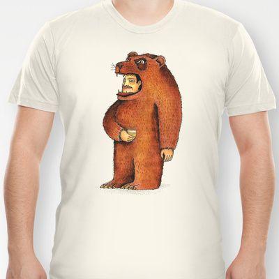 Oso pico tibio T-shirt by Juan Weiss - $18.00