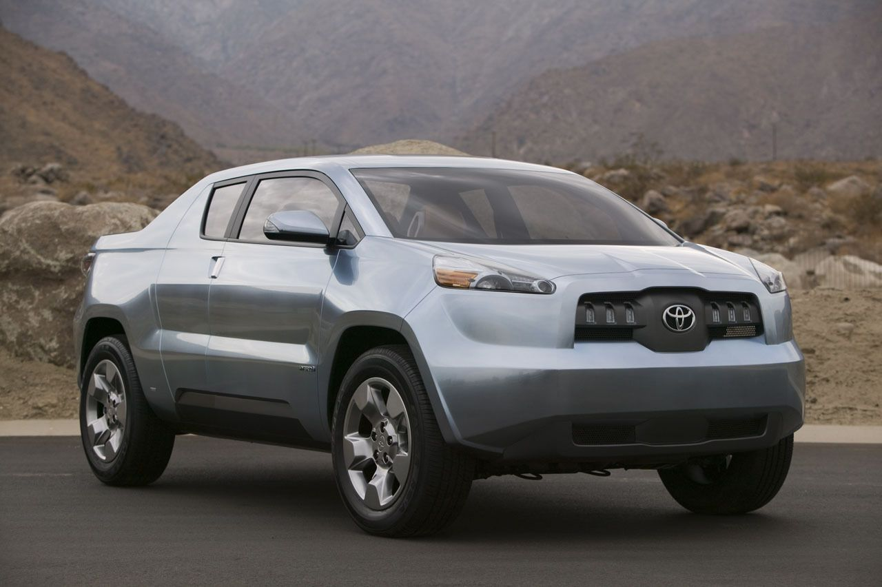 Is It A Bird Truck Hybrid Ugly S The Toyota Bat Concept Vehicle