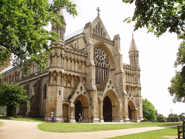 St. Albans cathedral- UK