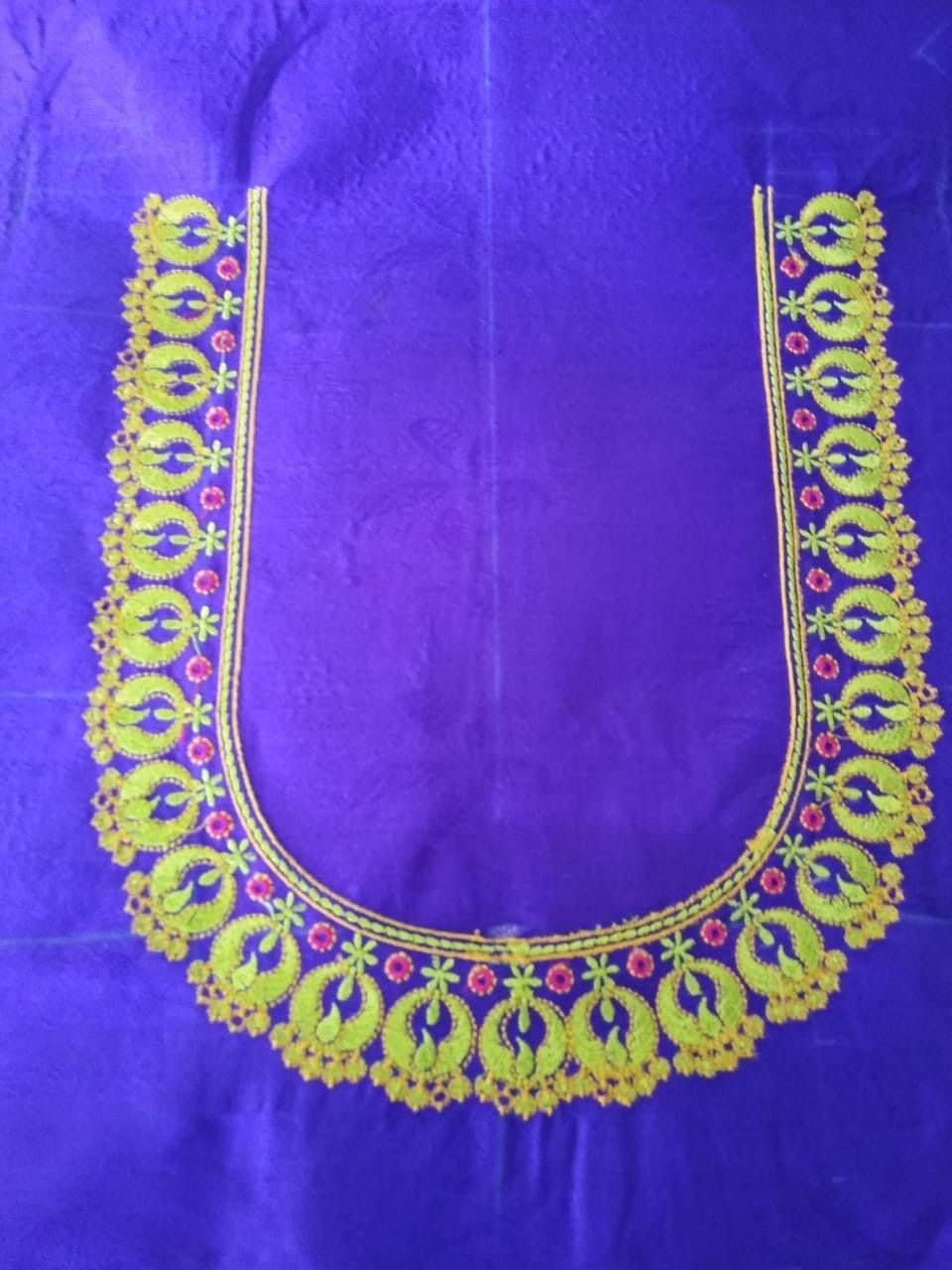 9912954124 Embroidery blouse designs, Kids blouse