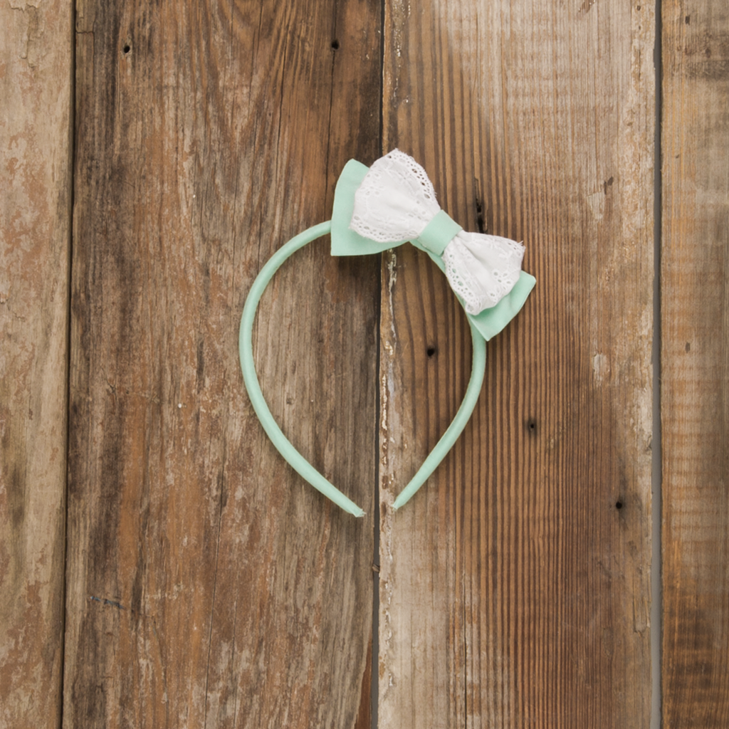 Dolly Mint Headband