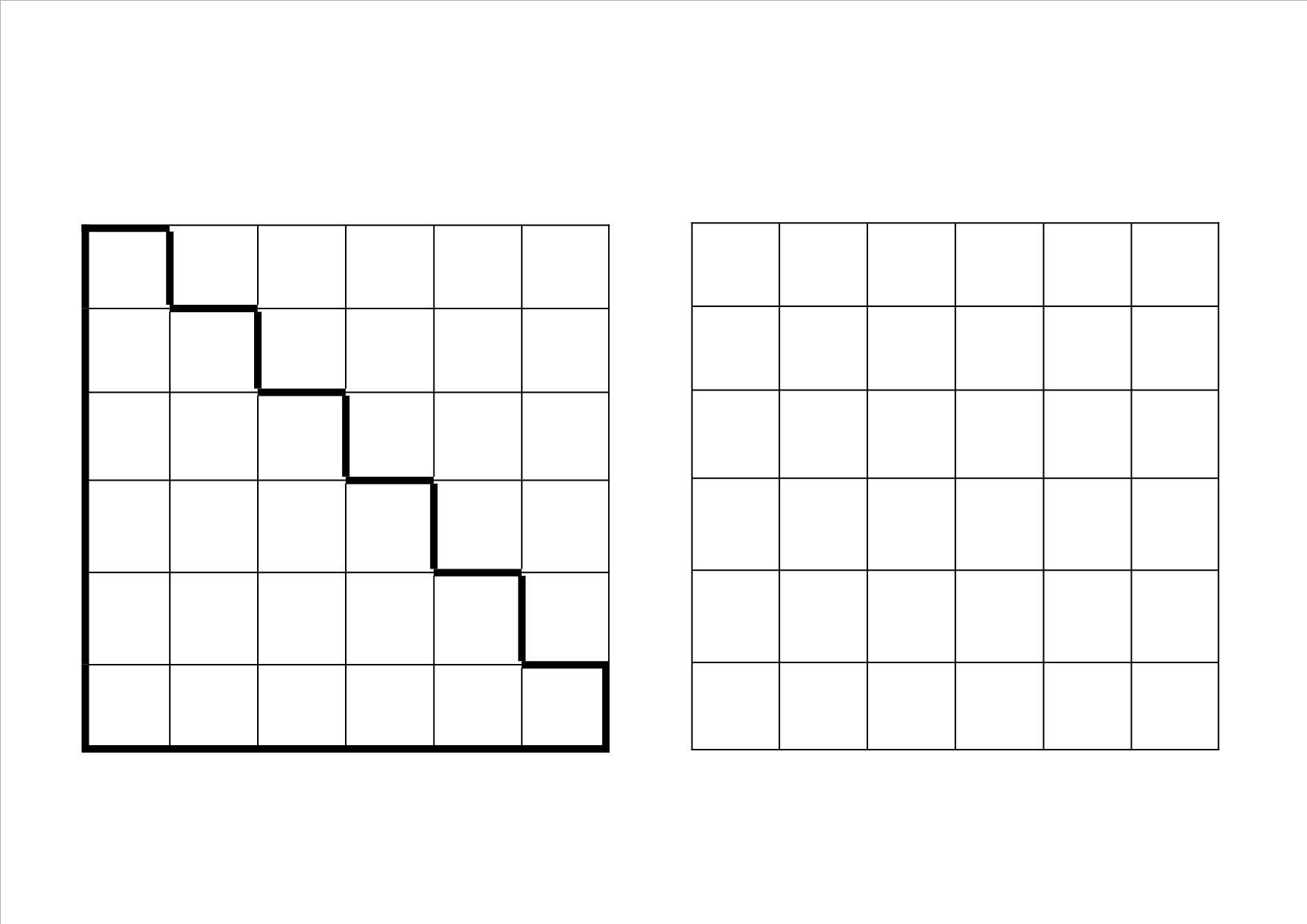 werkboekje ruimtelijk inzicht 7 quadrillage tableaux double entr e triple entr e pixel. Black Bedroom Furniture Sets. Home Design Ideas