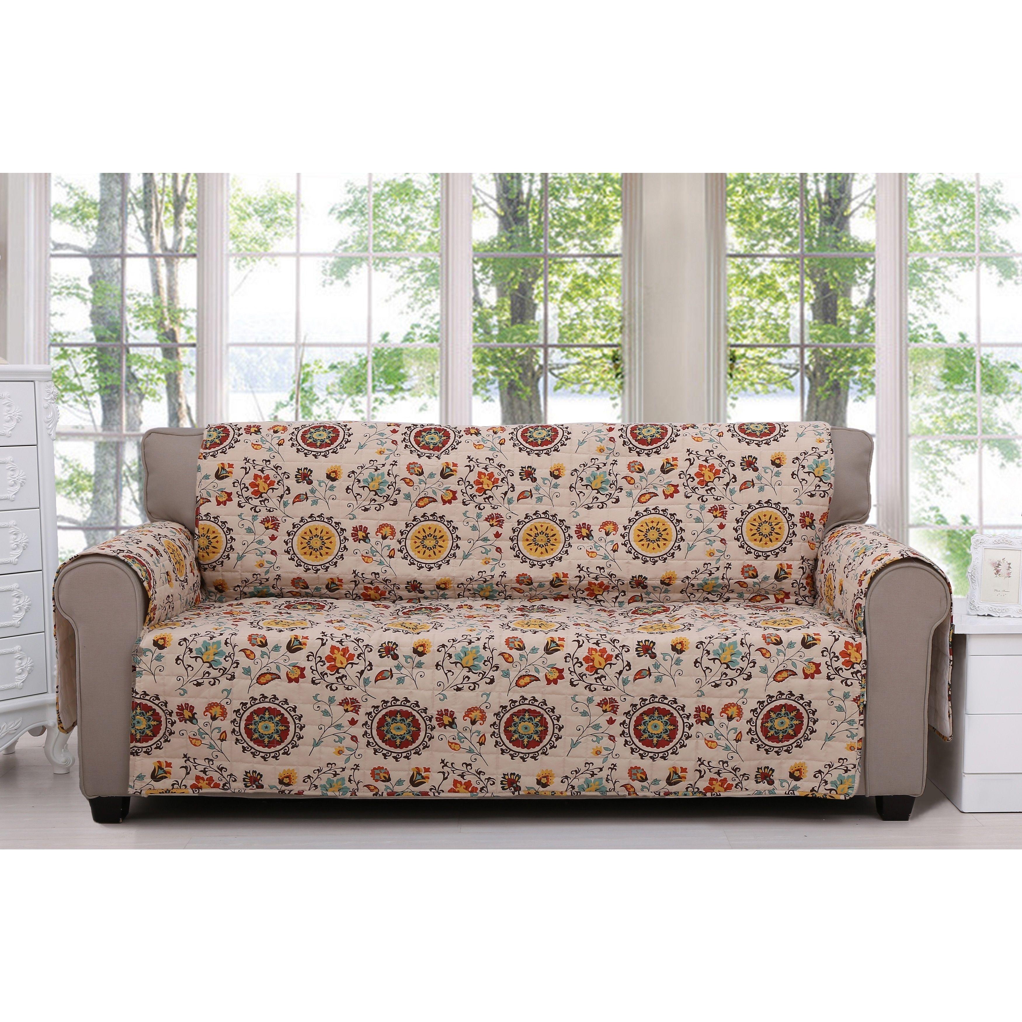Greenland home fashions andorra furniture sofa protector andorra furniture protector sofa multi design