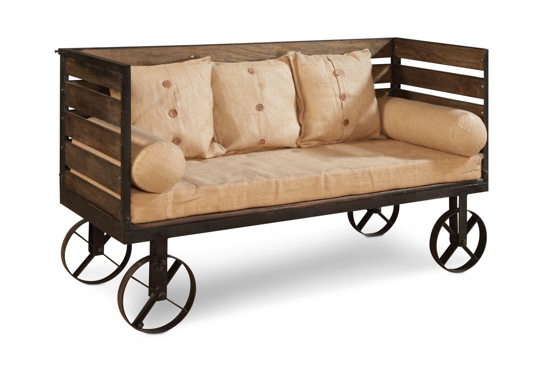 Settee Cart Dock86 Spend A Good Deal Less On Furniture