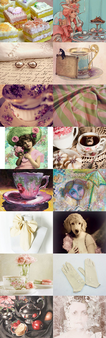 Do Stop In for Tea by Linda Voth on Etsy--Pinned with TreasuryPin.com