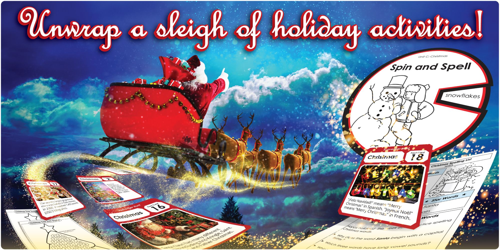 Bring The Holidaymagic To Your Classroom With Christmas