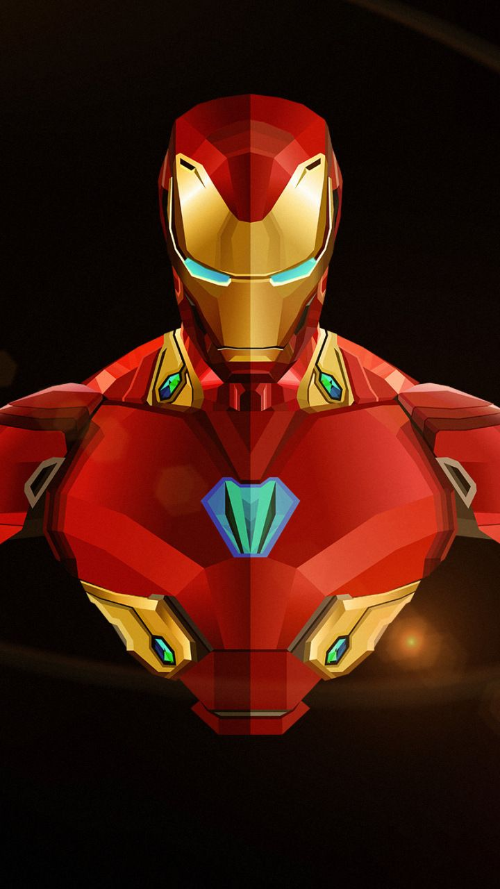 iron man, avengers: infinity war, marvel comics, 720x1280 wallpaper