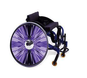 Wheelchair Spoke Guard Skins Fantasy Sky World View Mobility Sticker 371