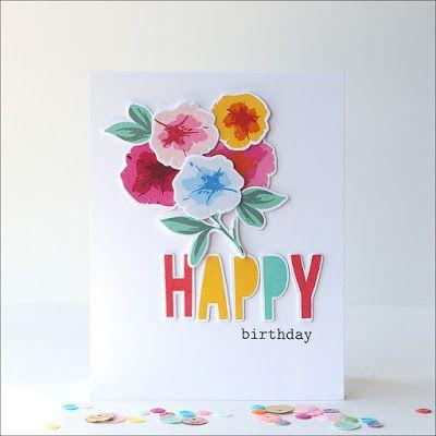 Overnight Waffles Colourful Birthday Birthday Cards Pinterest