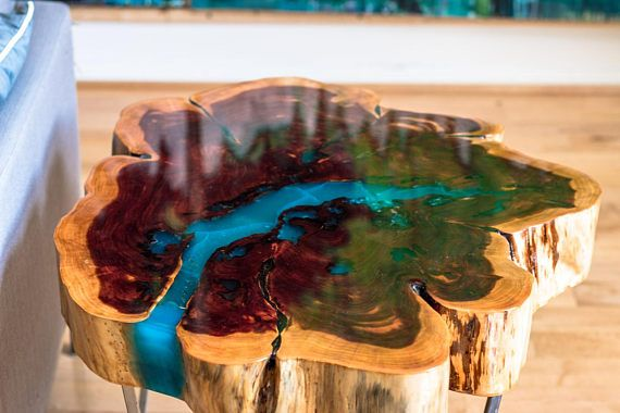 Natural Coffee Table Base