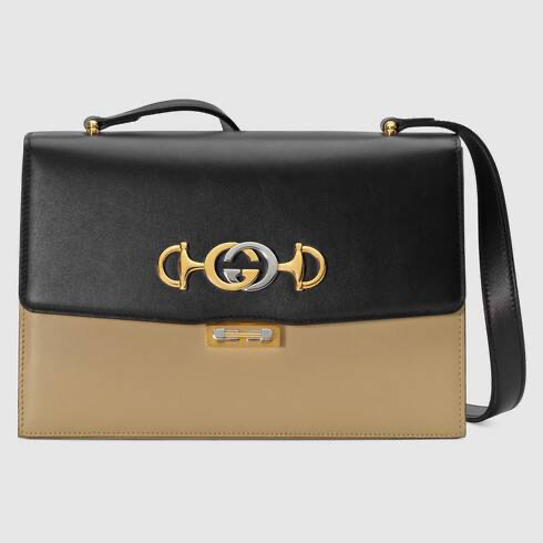 Photo of Gucci – Gucci Zumi smooth leather small shoulder bag