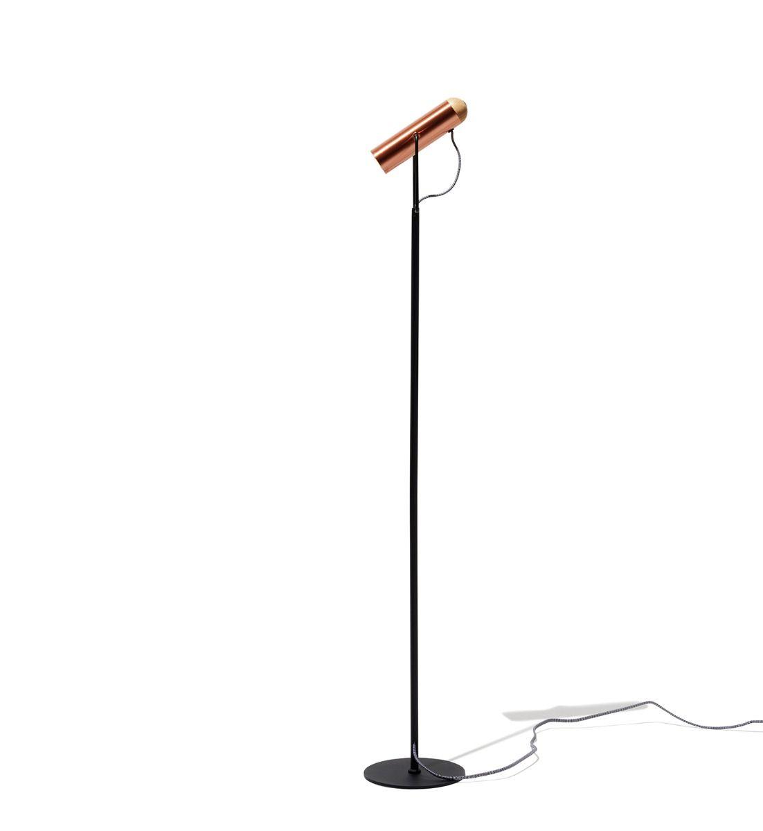 Minaret Floor Lamp Copper