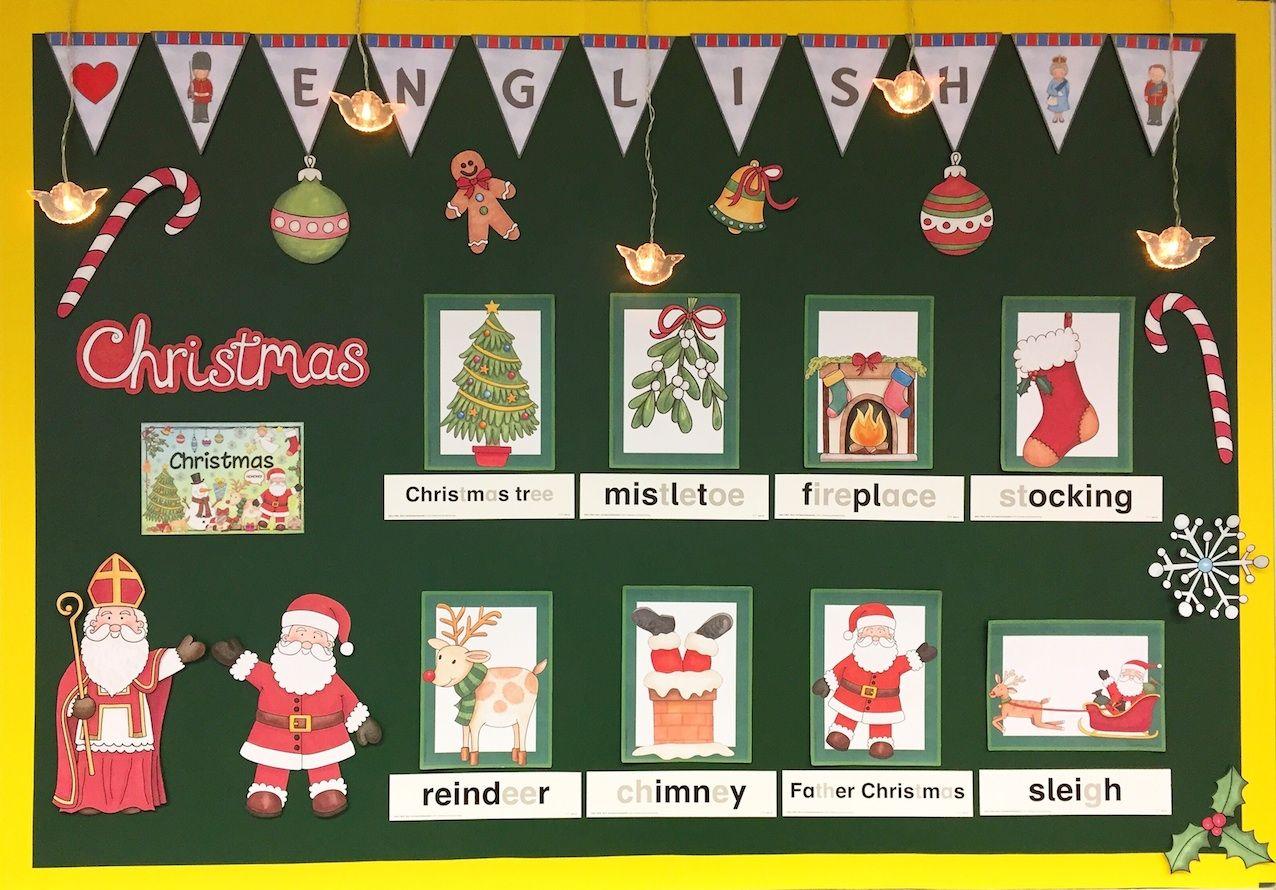 Christmas im englischunterricht schule englisch grundschule englischunterricht und grundschule - Weihnachten grundschule ideen ...