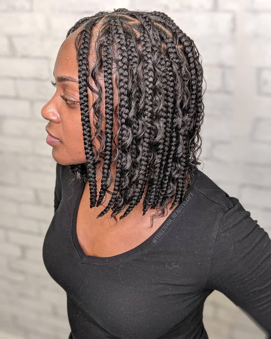 15++ Knotless braids on short hair trends