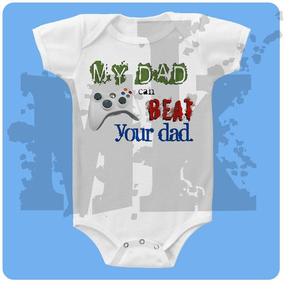 Happy 1st Father/'s Day Embroidered Baby Pull-Over Bib Gift Personalised Fathers