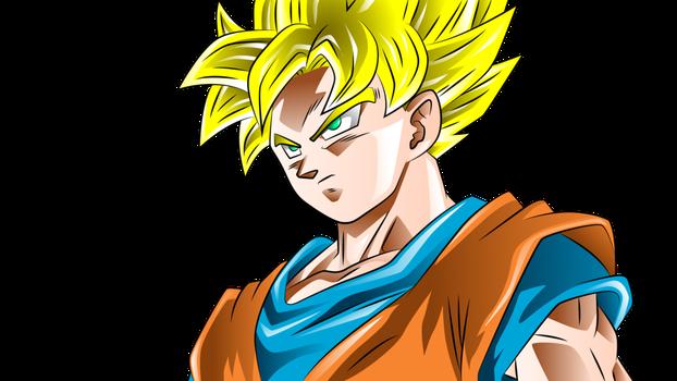 Goku Super Saiyan By Rmehedi Super Saiyan Blue Super Saiyan Super Saiyan God