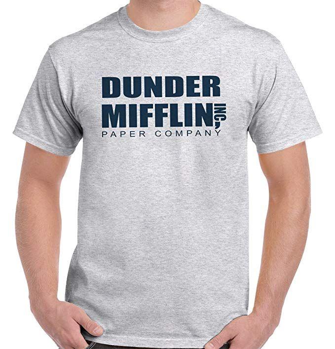 161bae7d2 Dunder Mifflin Paper The Office TV Show T Shirt Tee | Funny Shirts ...