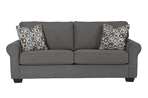 Best Nalini Sofa 87 W X 40 D X 39 H Ashley Furniture 400 x 300